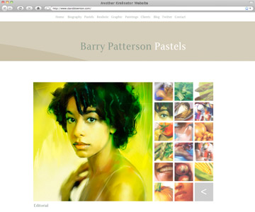 Barry Patterson - Kralinator Web Design