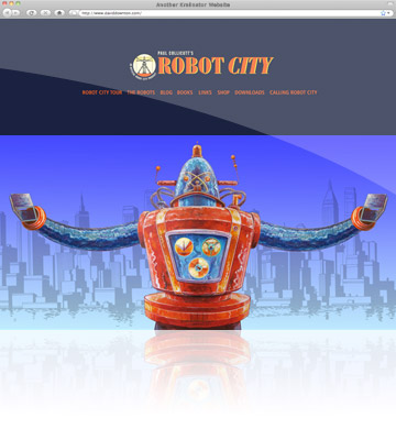 Kralinator Web Design - Robot City